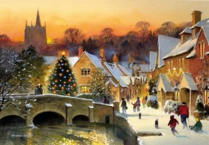 Castle Coombe christmas